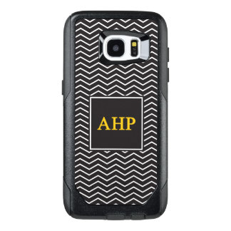 Alpha Eta Rho | Chevron Pattern OtterBox Samsung Galaxy S7 Edge Case