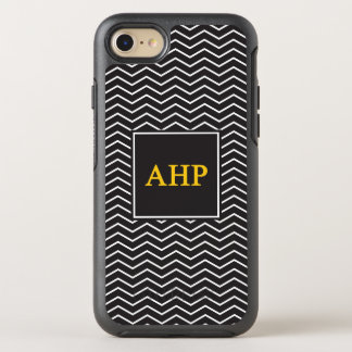 Alpha Eta Rho | Chevron Pattern OtterBox Symmetry iPhone 8/7 Case