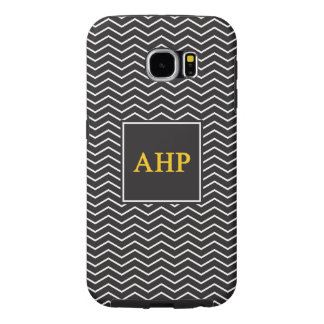 Alpha Eta Rho   Chevron Pattern Samsung Galaxy S6 Cases