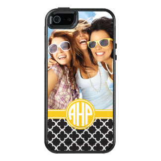Alpha Eta Rho | Custom Monogram Pattern OtterBox iPhone 5/5s/SE Case