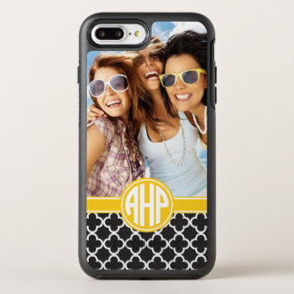 Alpha Eta Rho | Custom Monogram Pattern OtterBox Symmetry iPhone 8 Plus/7 Plus Case