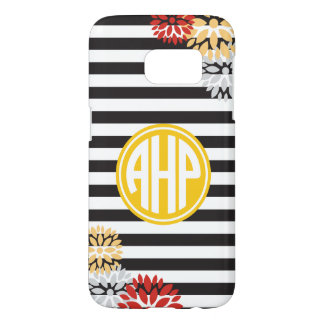 Alpha Eta Rho | Monogram Stripe Pattern