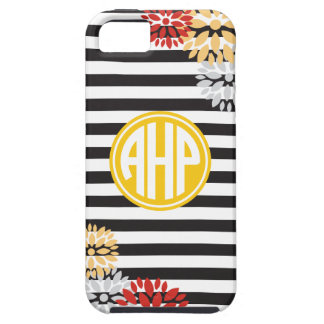 Alpha Eta Rho | Monogram Stripe Pattern iPhone 5 Cases