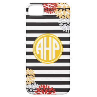 Alpha Eta Rho | Monogram Stripe Pattern iPhone 5 Cover