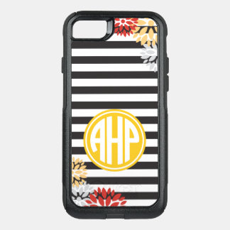 Alpha Eta Rho | Monogram Stripe Pattern OtterBox Commuter iPhone 7 Case