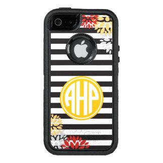 Alpha Eta Rho   Monogram Stripe Pattern OtterBox iPhone 5/5s/SE Case