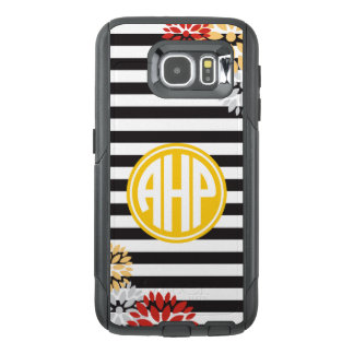 Alpha Eta Rho | Monogram Stripe Pattern OtterBox Samsung Galaxy S6 Case