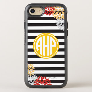 Alpha Eta Rho | Monogram Stripe Pattern OtterBox Symmetry iPhone 8/7 Case