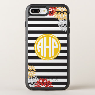 Alpha Eta Rho | Monogram Stripe Pattern OtterBox Symmetry iPhone 8 Plus/7 Plus Case