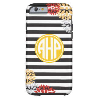 Alpha Eta Rho | Monogram Stripe Pattern Tough iPhone 6 Case