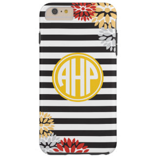Alpha Eta Rho | Monogram Stripe Pattern Tough iPhone 6 Plus Case