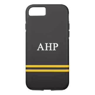 Alpha Eta Rho   Sport Stripe iPhone 7 Case