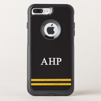 Alpha Eta Rho | Sport Stripe OtterBox Commuter iPhone 8 Plus/7 Plus Case