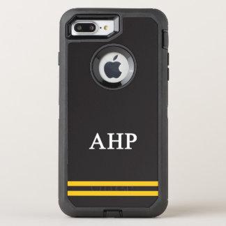 Alpha Eta Rho   Sport Stripe OtterBox Defender iPhone 7 Plus Case