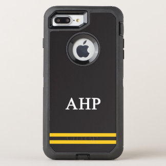 Alpha Eta Rho | Sport Stripe OtterBox Defender iPhone 8 Plus/7 Plus Case