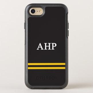 Alpha Eta Rho   Sport Stripe OtterBox Symmetry iPhone 7 Case
