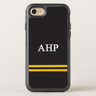 Alpha Eta Rho | Sport Stripe OtterBox Symmetry iPhone 8/7 Case