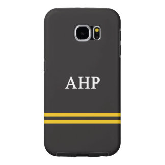 Alpha Eta Rho | Sport Stripe Samsung Galaxy S6 Cases
