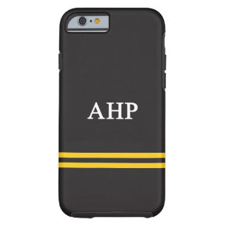 Alpha Eta Rho | Sport Stripe Tough iPhone 6 Case