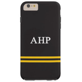 Alpha Eta Rho | Sport Stripe Tough iPhone 6 Plus Case