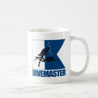 """Alpha Flag -Divemaster"" Basic White Mug"