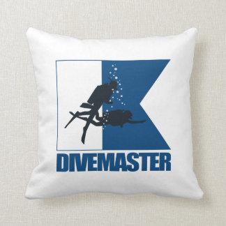 """""""Alpha Flag -Divemaster"""" Pillows"""