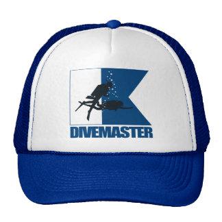 """""""Alpha Flag -Divemaster"""" Mesh Hats"""
