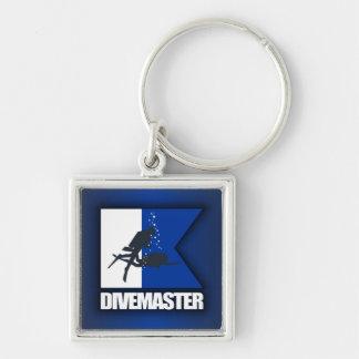 Alpha Flag (Divemaster) Key Chains