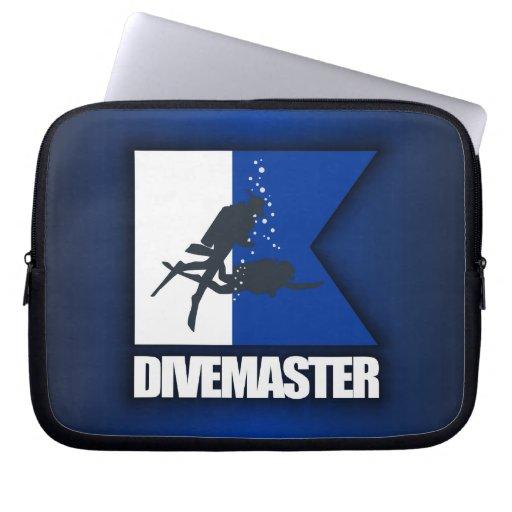 Alpha Flag (Divemaster) Computer Sleeve