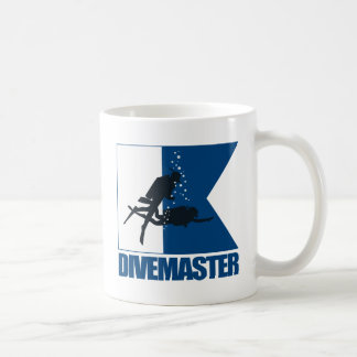 """""""Alpha Flag -Divemaster"""" Coffee Mug"""