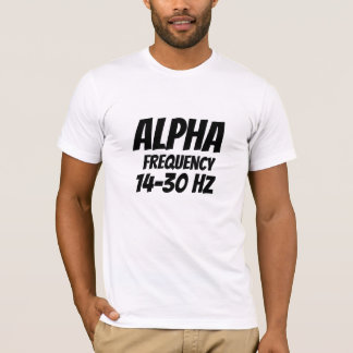 alpha frequency hz T-Shirt