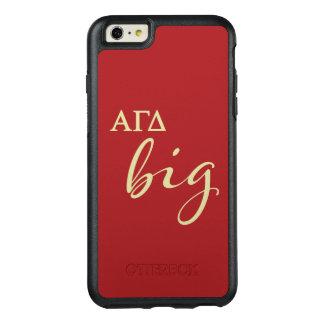 Alpha Gamma Delta Big Script OtterBox iPhone 6/6s Plus Case