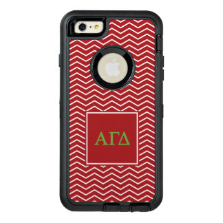 Alpha Gamma Delta | Chevron Pattern OtterBox iPhone 6/6s Plus Case