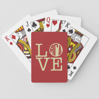 Alpha Gamma Delta Love Playing Cards