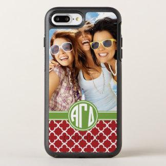 Alpha Gamma Delta | Monogram and Photo OtterBox Symmetry iPhone 8 Plus/7 Plus Case