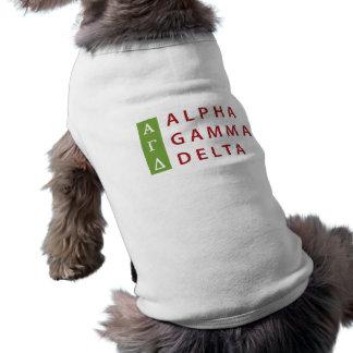 Alpha Gamma Delta Stacked Shirt