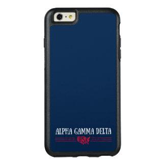 Alpha Gamma Delta USA OtterBox iPhone 6/6s Plus Case