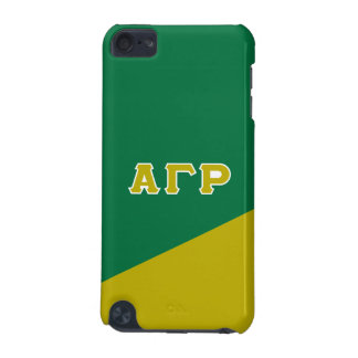 Alpha Gamma Rho | Greek Letters iPod Touch (5th Generation) Case