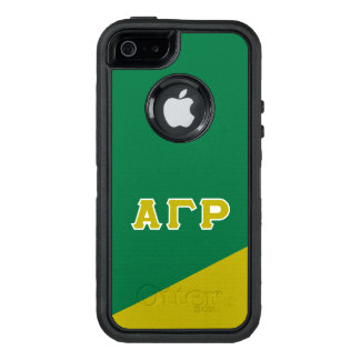Alpha Gamma Rho | Greek Letters OtterBox iPhone 5/5s/SE Case