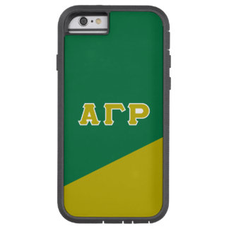 Alpha Gamma Rho | Greek Letters Tough Xtreme iPhone 6 Case