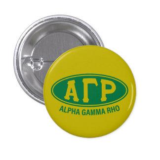 Alpha Gamma Rho | Vintage 3 Cm Round Badge