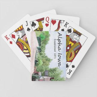 Alpha, Iowa Playing Cards