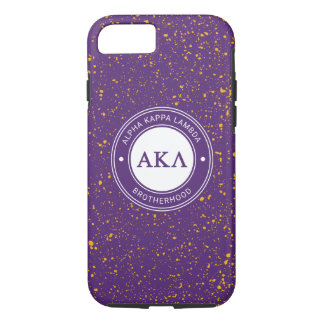 Alpha Kappa Lambda   Badge iPhone 8/7 Case