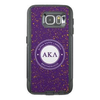 Alpha Kappa Lambda   Badge OtterBox Samsung Galaxy S6 Case