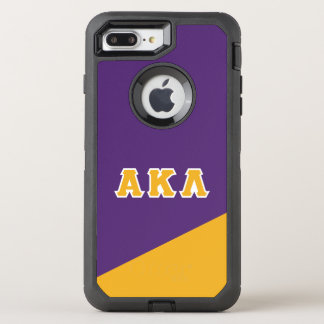 Alpha Kappa Lambda | Greek Letters OtterBox Defender iPhone 8 Plus/7 Plus Case