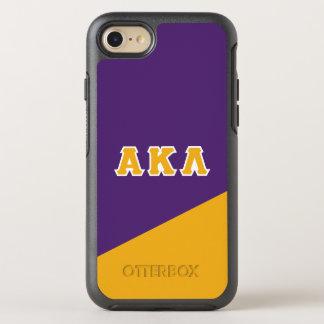 Alpha Kappa Lambda   Greek Letters OtterBox Symmetry iPhone 8/7 Case
