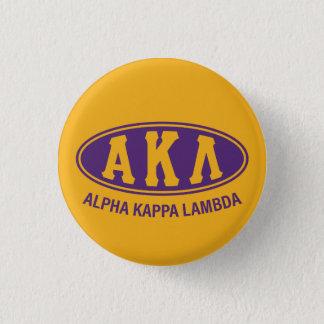 Alpha Kappa Lambda   Vintage 3 Cm Round Badge
