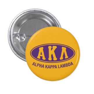Alpha Kappa Lambda | Vintage 3 Cm Round Badge