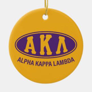 Alpha Kappa Lambda | Vintage Ceramic Ornament