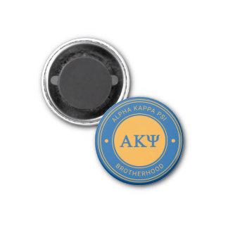Alpha Kappa Psi | Badge 3 Cm Round Magnet
